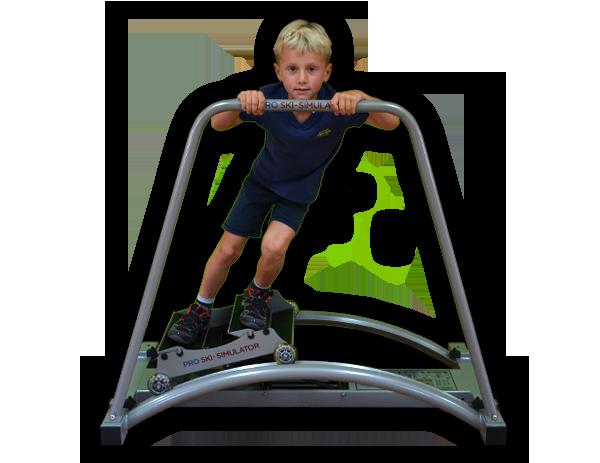 lyžařský trenažer ski simulator mini pro ty nejmenší - zkrácená verze MINI