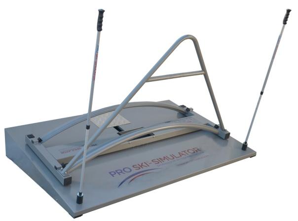 lyžařský trenažer pro ski simulator professional - rotační platforma, simulace oblouku, náročné cvičení, jak se naučit carving