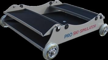 základní pojezdový vozík pro lyžařský trenažer pro ski simulator