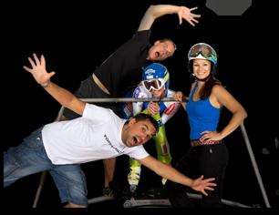 lyžařský trenažer skisimulator  - pro domácí použití